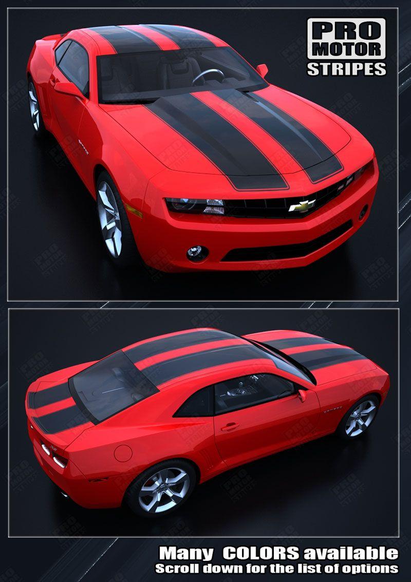 Choose Color Chevrolet Camaro 2010-2015 Bumblebee Transformers Racing Stripes