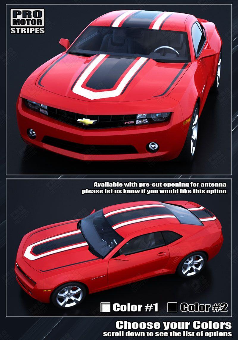 Chevrolet Camaro Hot Wheels Style Stripes Decals 2014 2015