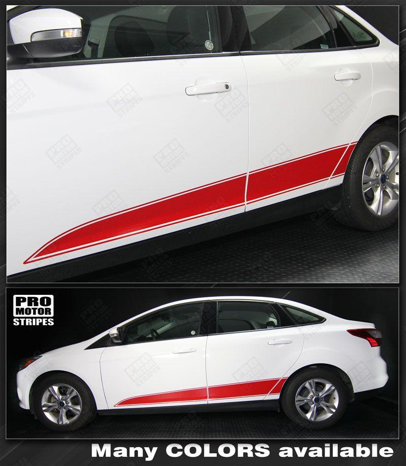 Fits 2016-2018 Honda Civic Sedan Polycarbonate Window Visors 4PCS Style mince