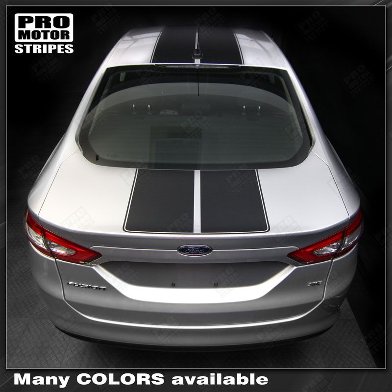 Ford Fusion 2013 2016 Over Top Hood Roof Amp Rear Stripes
