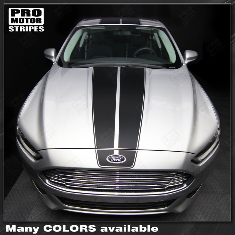 Ford Fusion Over Top Hood Roof Amp Rear Stripes Decals 2013